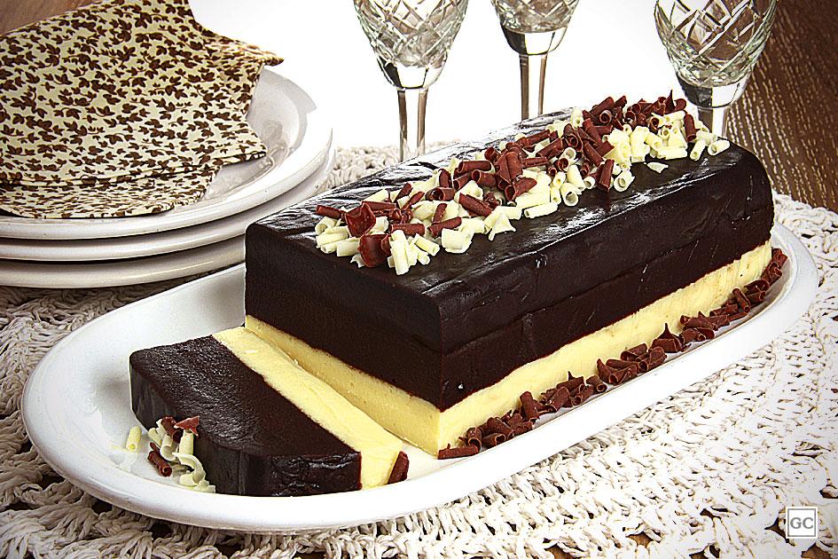 Dia do Chocolate - mousse de três chocolates