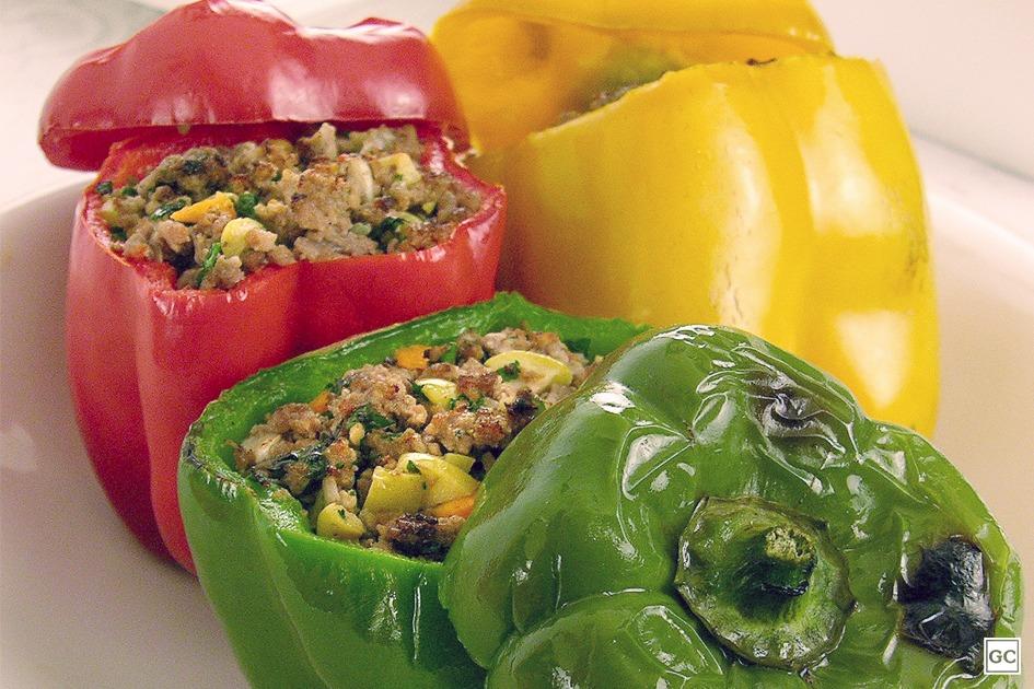 receitas de legumes recheados
