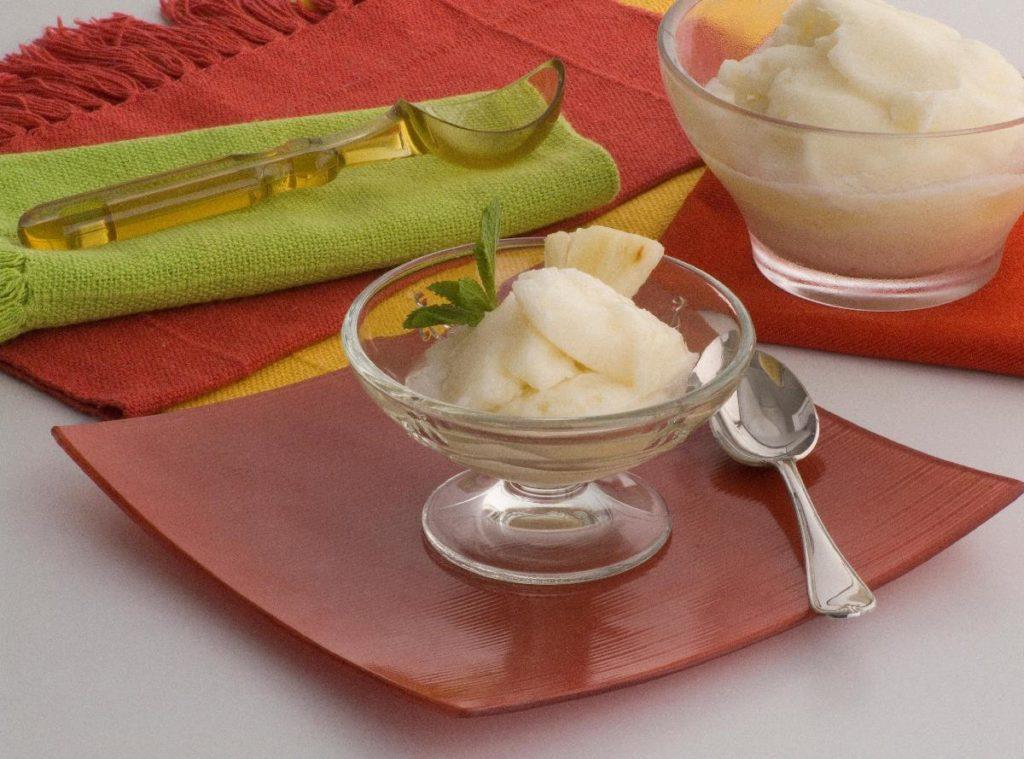 Sorbet de abacaxi