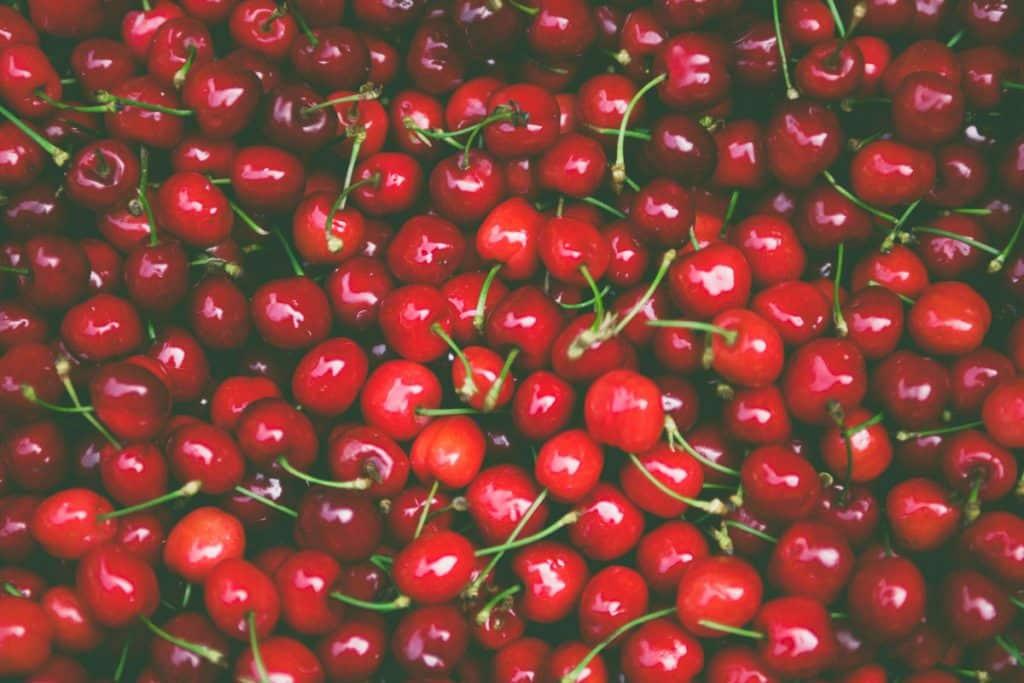 Frutas de Natal - Cerejas
