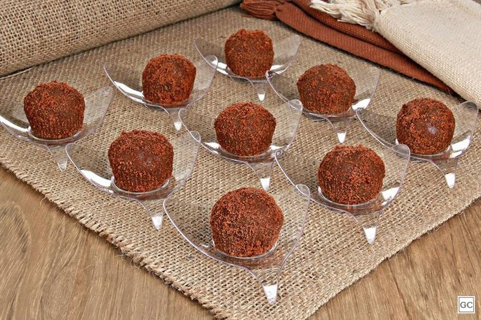 Receitas de brigadeiro de cookies de chocolate