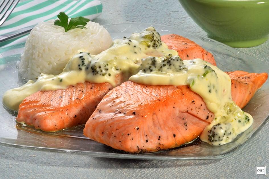 receitas com salmão