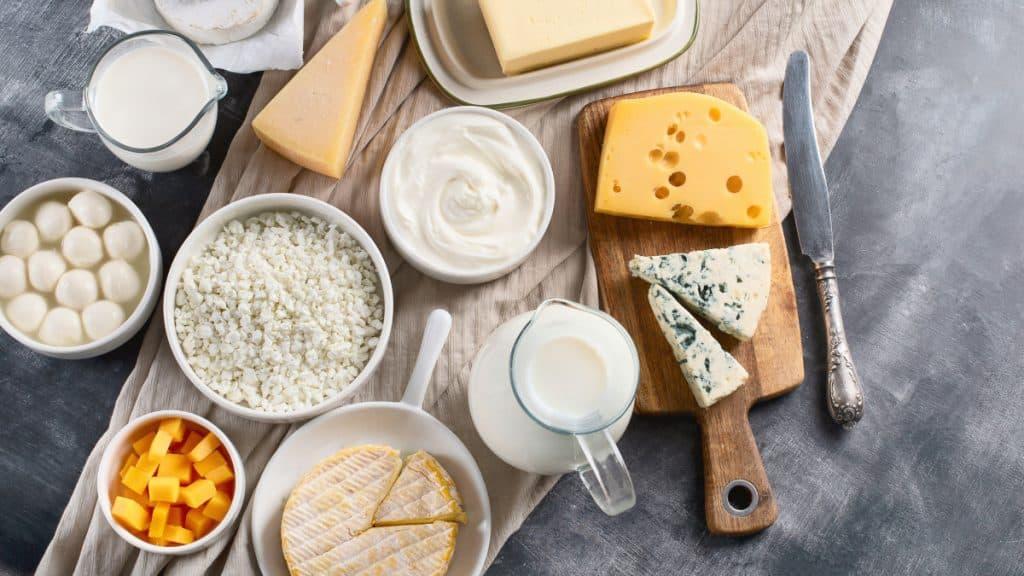 Intolerância à lactose o que comer