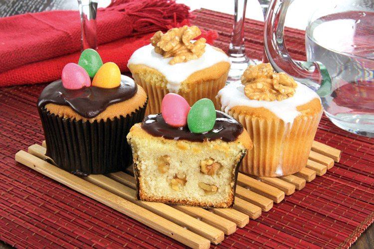 receitas de colomba pascal - cupcake de colomba pascal