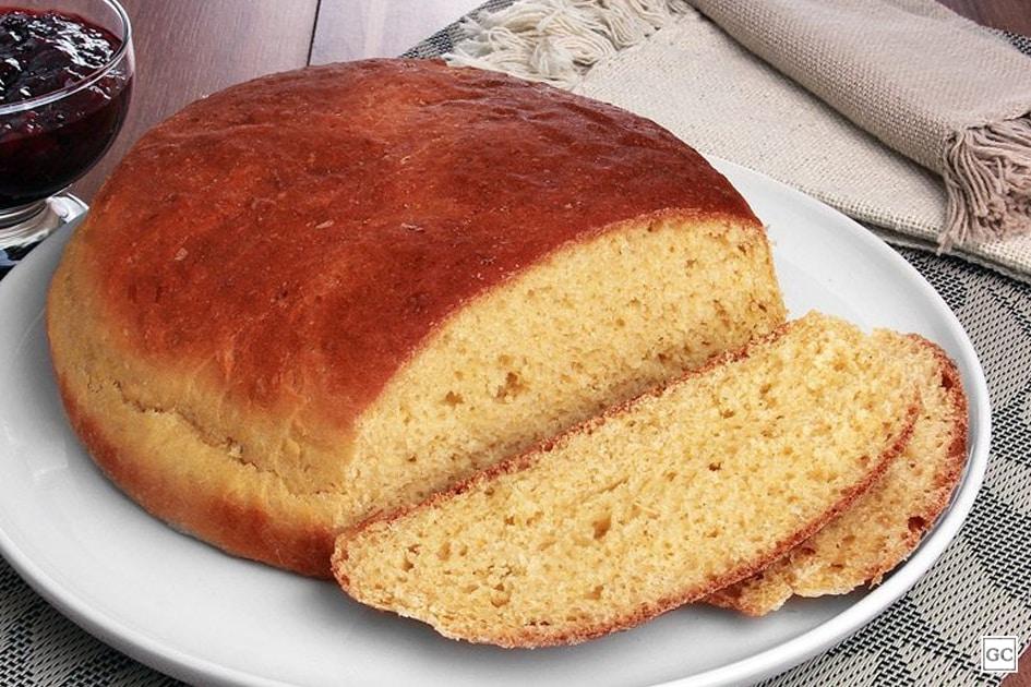 receitas de pão caseiro de milho fofinho