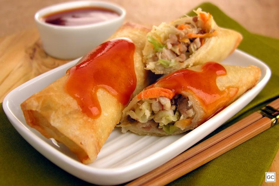comida japonesa- rolinho primavera