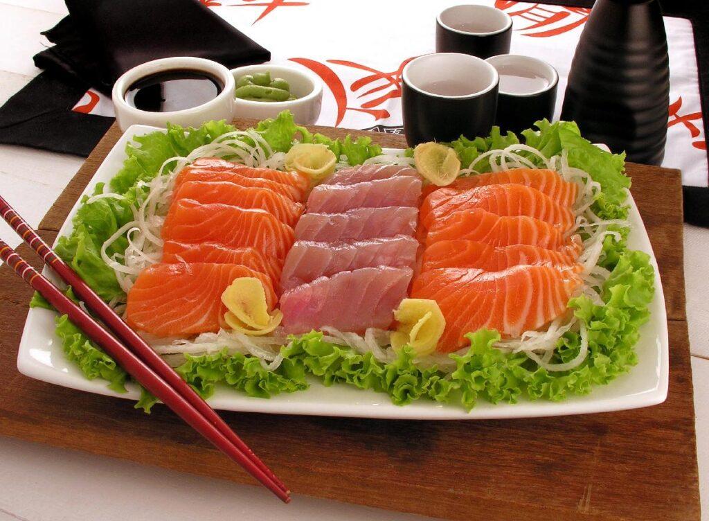 comida japonesa - sashimi fácil