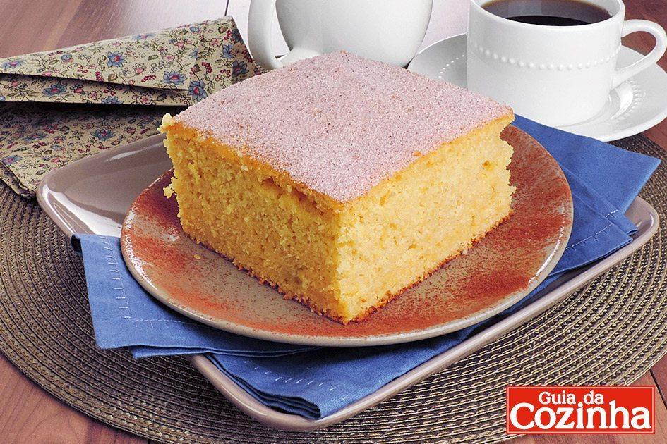 receitas de bolo de milho