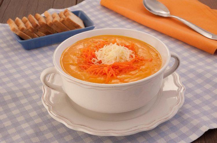receitas saudáveis com cenoura