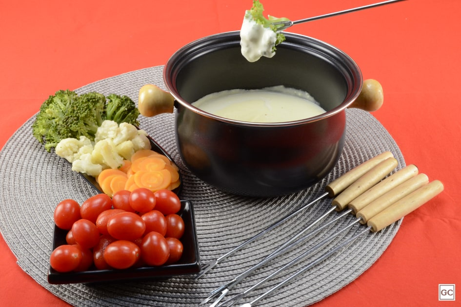 receitas de fondue de queijo