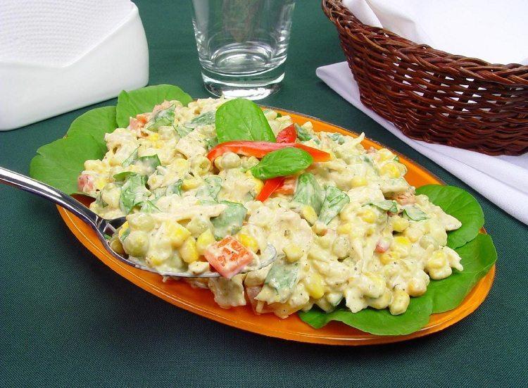 receitas de salada de maionese