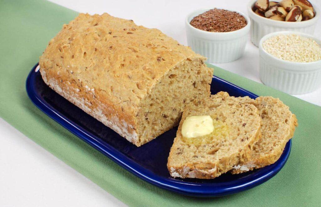 receitas de pão de liquidificador