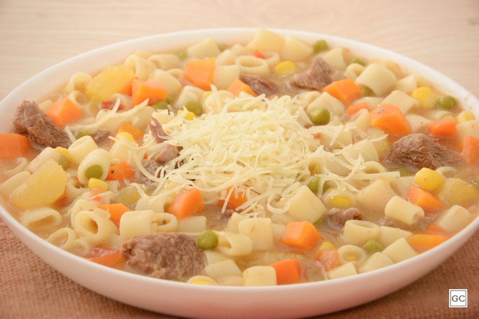 receitas de sopa sem carne