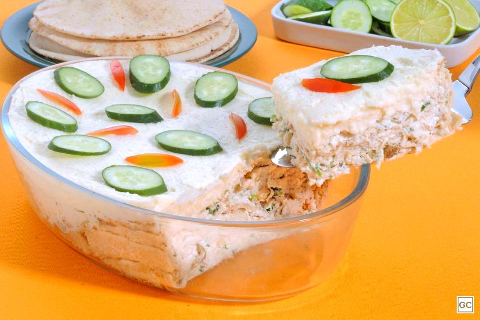 receitas com pão sírio