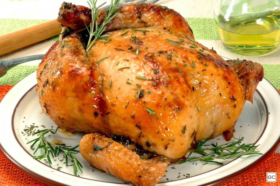 receitas de frango assado