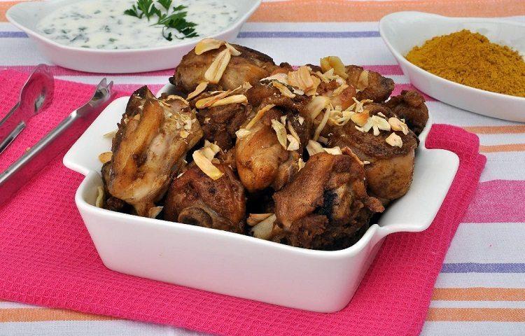 receitas de frango à passarinho