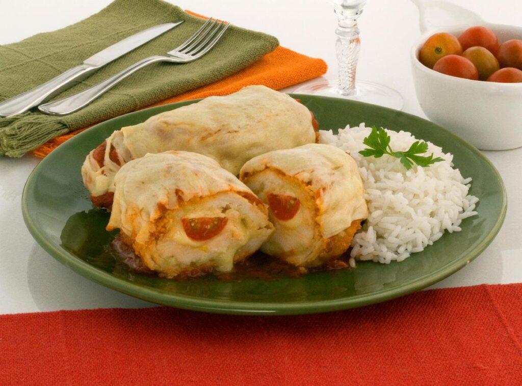 receitas de frango recheado