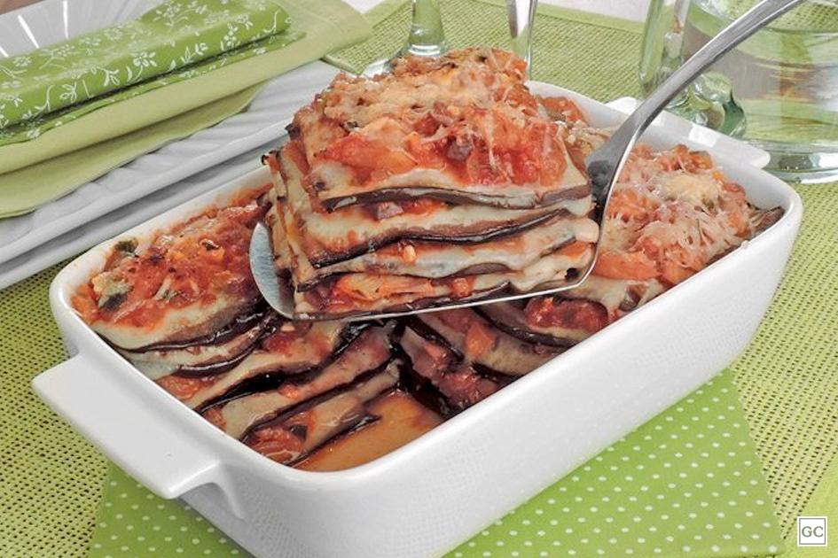 receitas de lasanha de berinjela