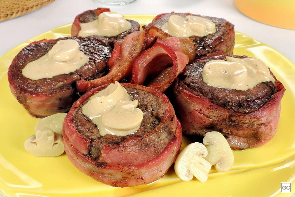 receitas de carne com bacon