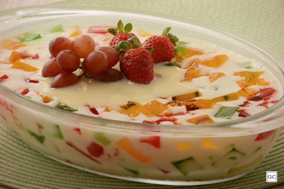 receitas de gelatina colorida