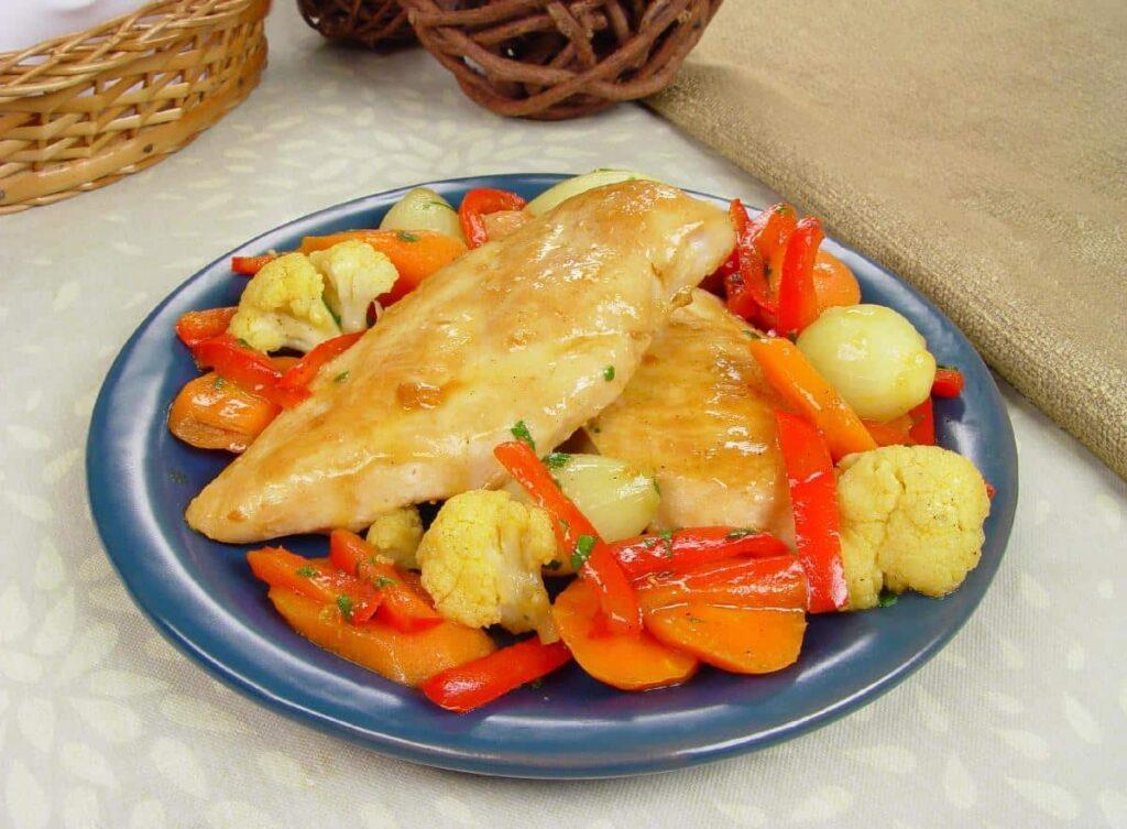 receitas com peito de frango