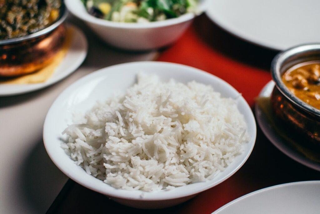 arroz na panela de pressão