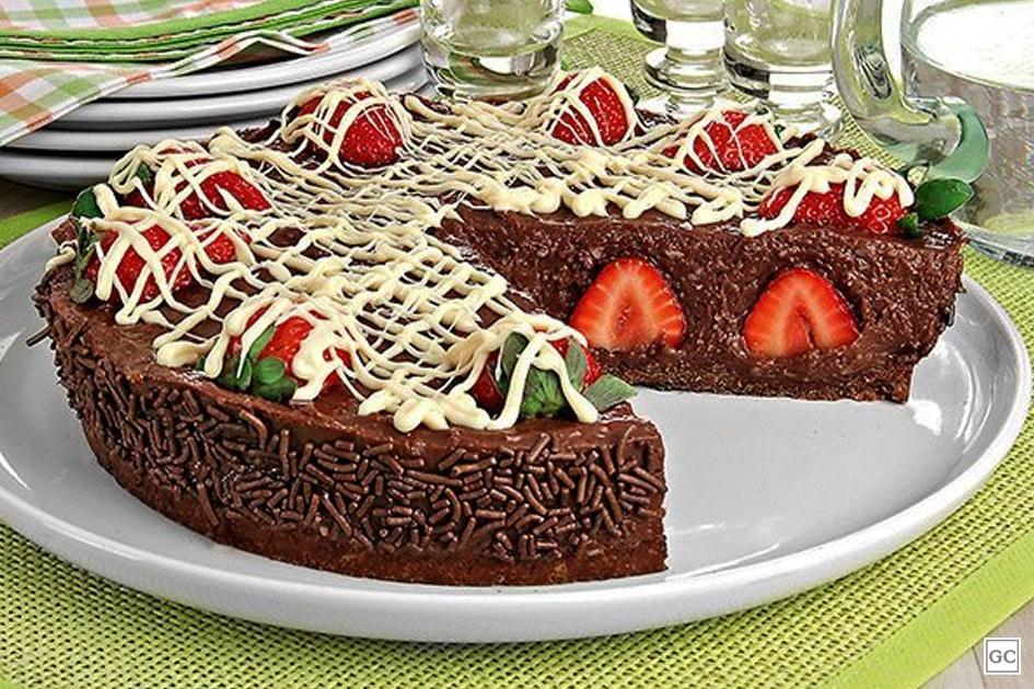 receitas de torta de brigadeiro