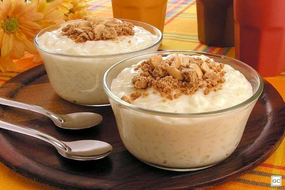 receitas de arroz doce