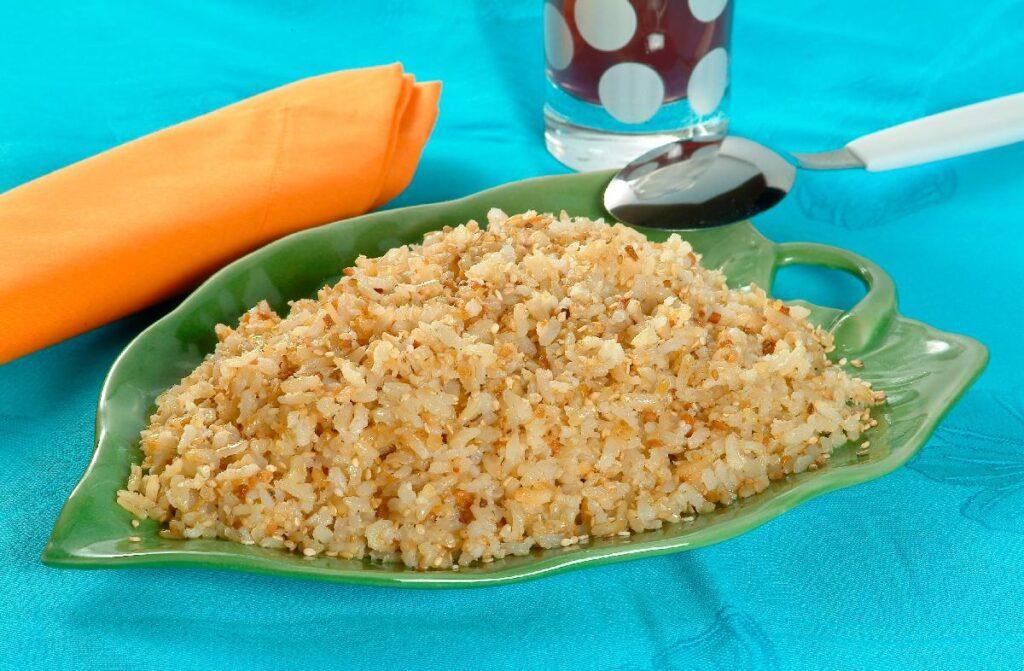 receitas diferentes de arroz integral