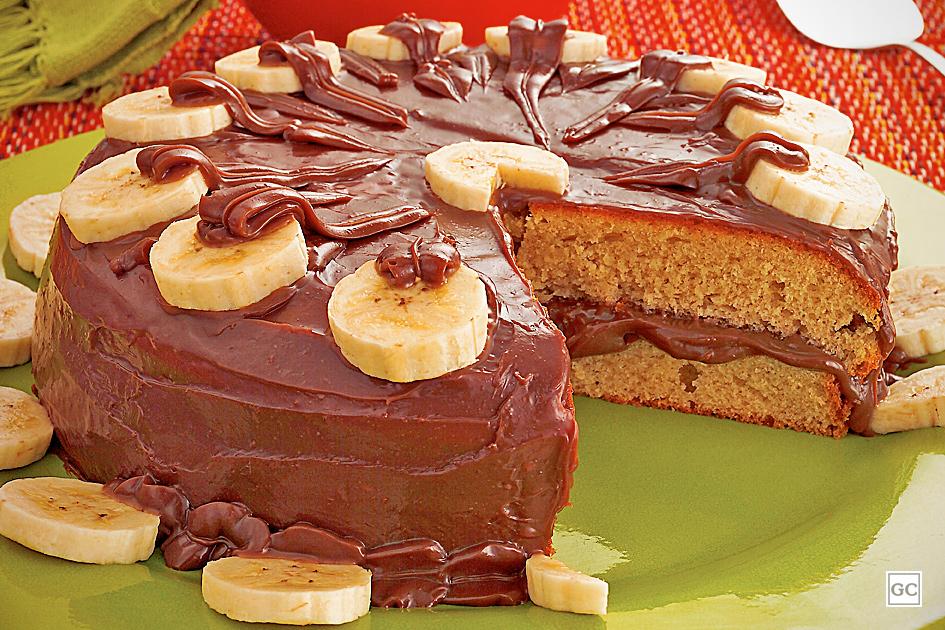 receitas de bolo de banana