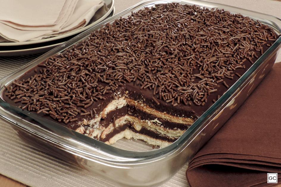 Sobremesas com chocolate meio amargo