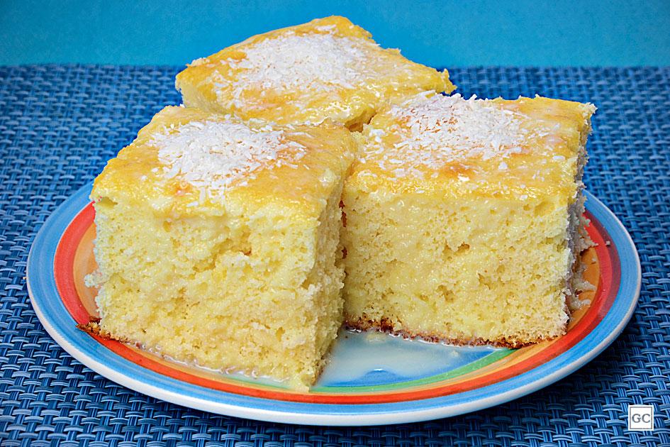 receitas práticas de bolo gelado