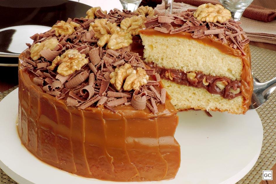 receitas de bolos recheados