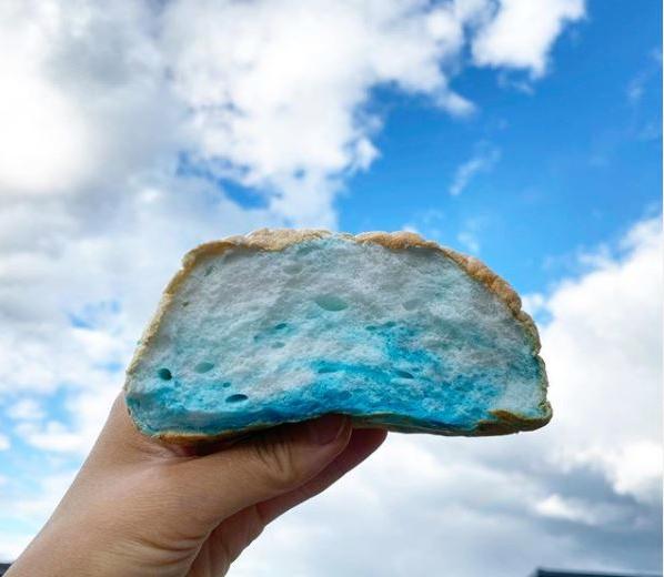 receita de pão nuvem