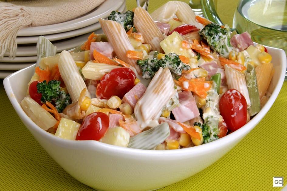 massas com legumes