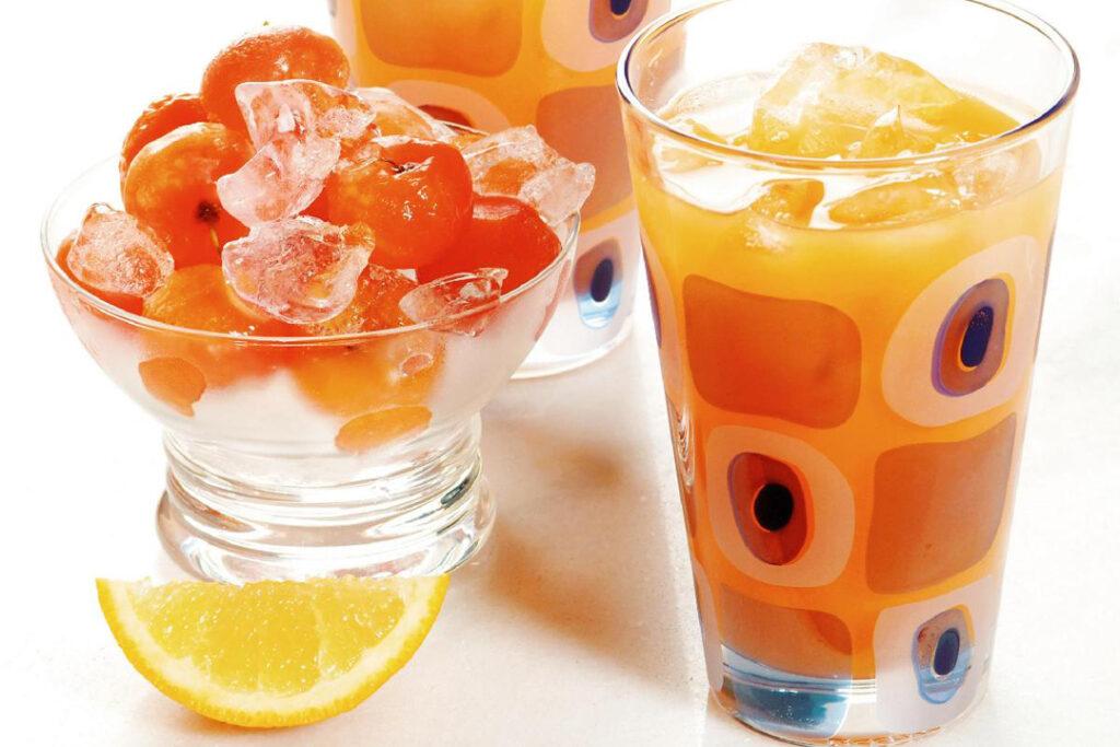 suco de acerola e laranja