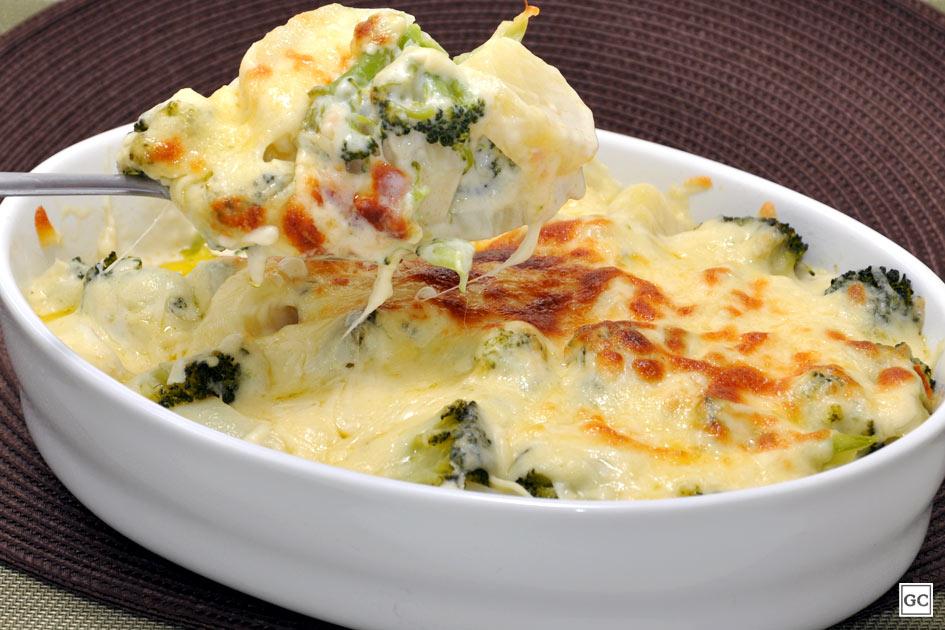 receitas com brócolis para o almoço