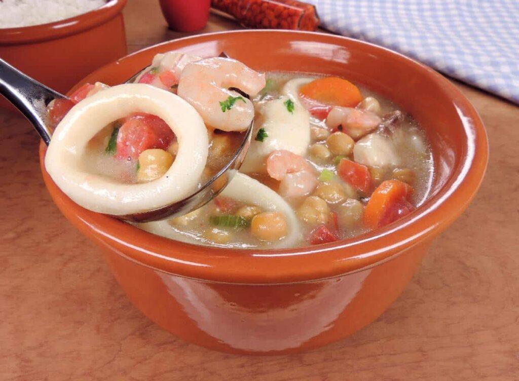 receitas com frutos do mar