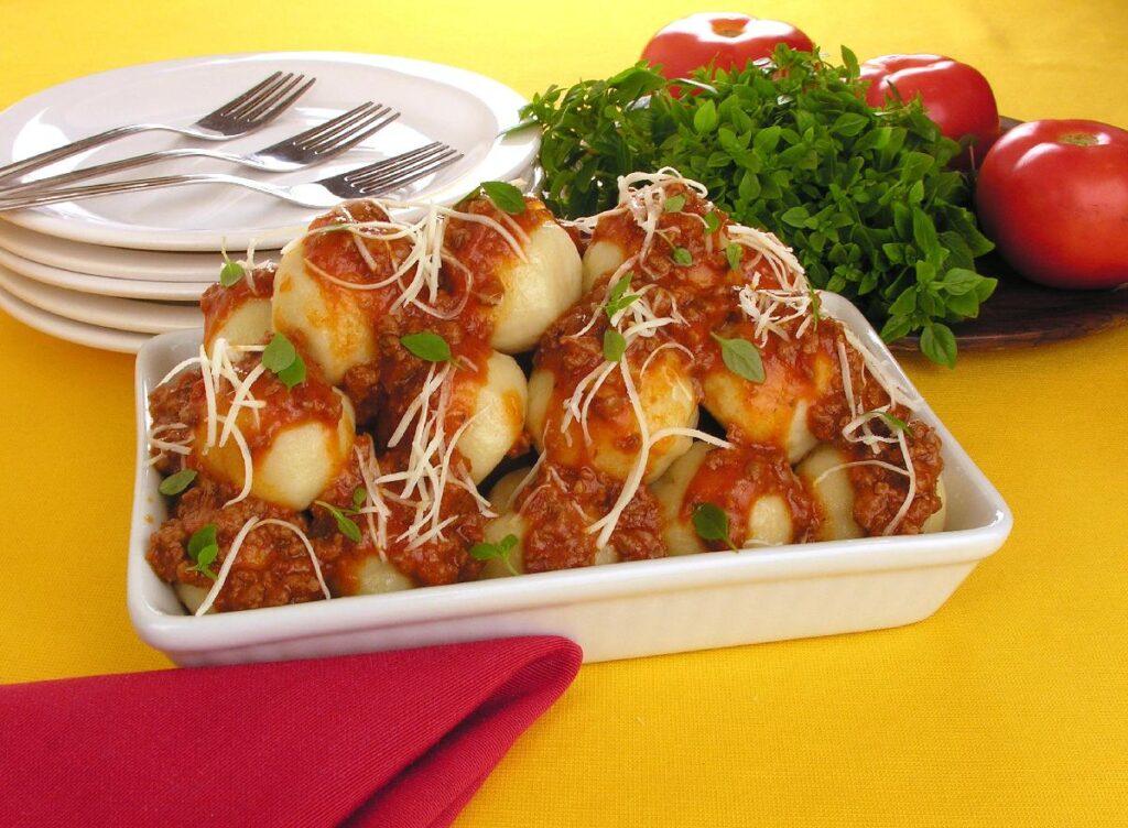 nhoque de batata
