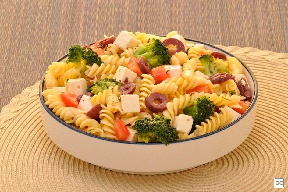 receitas de salada de macarrão