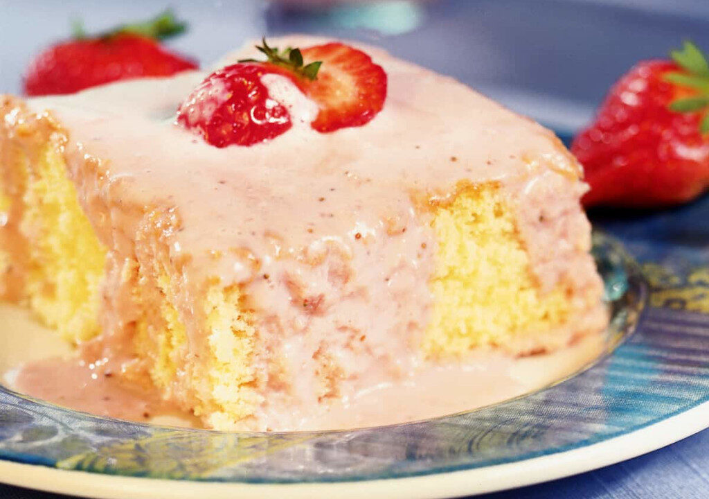 receitas de bolos doces