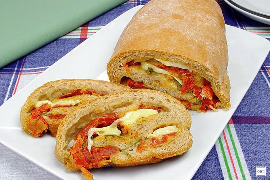 receitas de rúcula com tomate seco