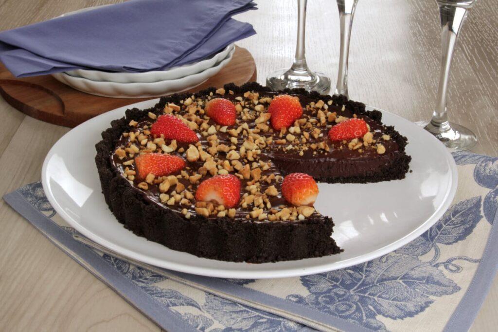 receitas de morango com chocolate