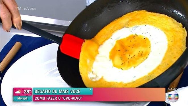 receita de ovo-alvo