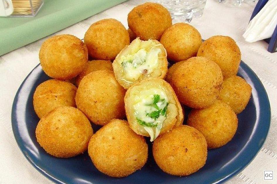 bolinhas de queijo diferentes