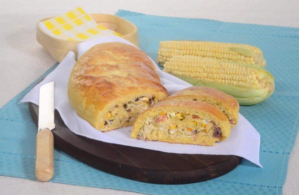 receitas de pão de milho