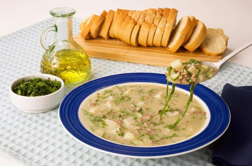 sopas de batata
