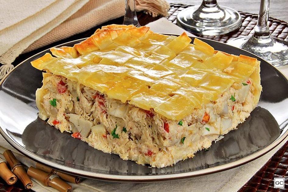 receitas rápidas com massa de pastel