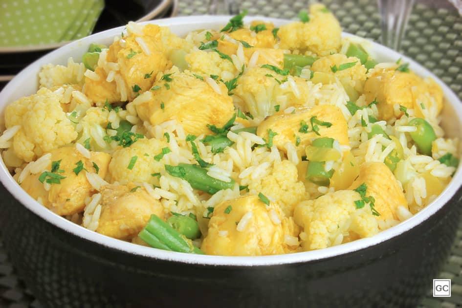 receitas com curry