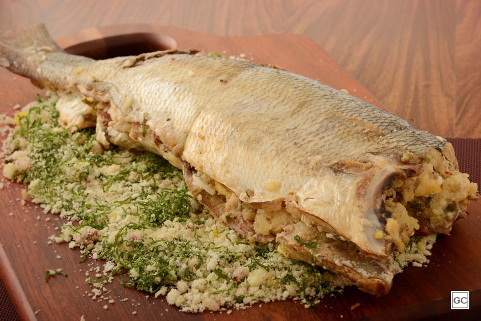 peixe recheado